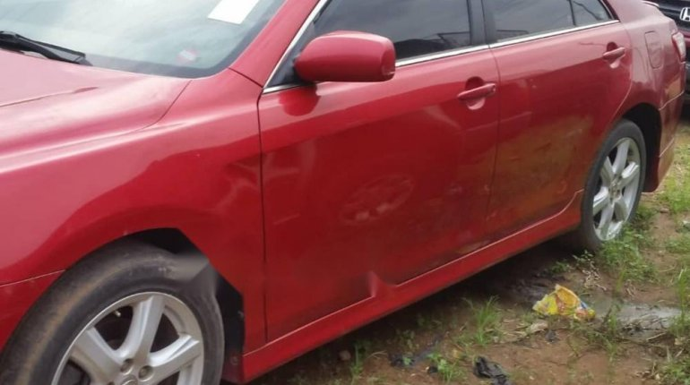 Foreign Used 2007 Red Toyota Camry for sale in Lagos.-6