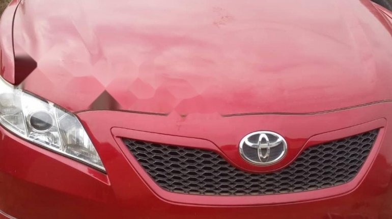 Foreign Used 2007 Red Toyota Camry for sale in Lagos.-2