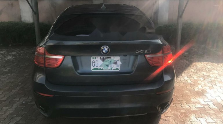 Nigeria Used BMW X6 2008 Model Gray-1