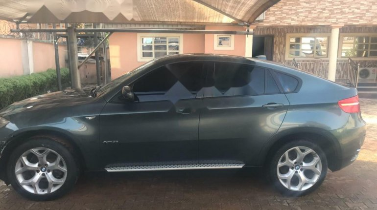 Nigeria Used BMW X6 2008 Model Gray-3