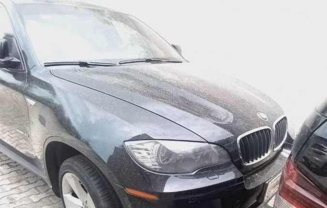 Nigeria Used BMW X6 2012 Model Black-0