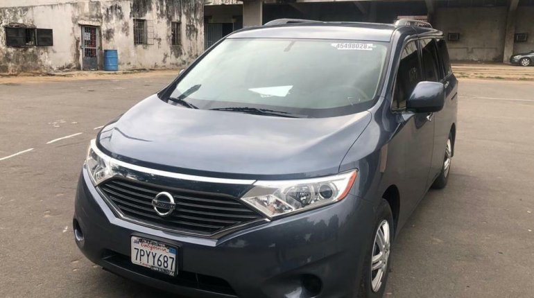2012 Nissan Quest for sale in Lagos-3